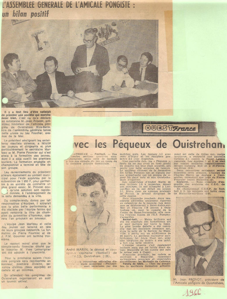 L'AG en 1966