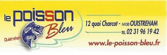 Logo Le poisson bleu