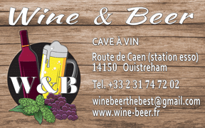 Logo Wine and beer Ouistreham